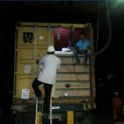 Flexibag Loading With Our Partner In Surabaya
