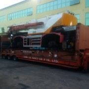 Heavy Machinaries Shipment